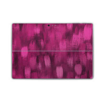 Brushed Pink Removable Printed Vinyl Skin Sticker Wrap Cover to fit Surface Pro