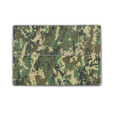 Abstract Military Camo Premium Vinyl Skin Sticker Wrap Cover to fit Surface Pro