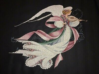 Angel of Spring  Cross Stitch Finished Completed