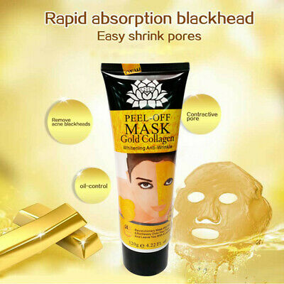 Gold  Face Mask  Collagen Facial Anti Aging High Moisture Remove Wrinkle