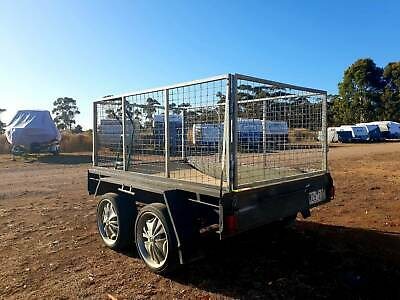 Caged enclosed  trailer 8ft x 4ft