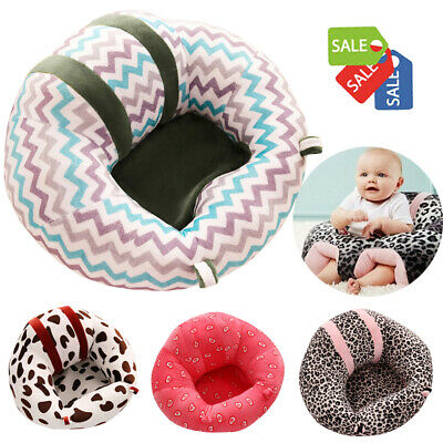 Baby Kids Support Seat Sit Up Soft Chair Cushion Sofa Plush Pillows Bean Bag Toy
