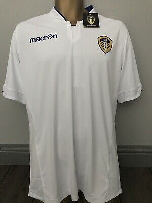 Genuine Leeds United Macron Football Shirt Size XXL New with Tags 2XL
