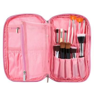 Women Marble Travel Make Up Cosmetic Bag Fashion Multifunction Makeup Brush Bag