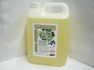 ECO-ASSASSIN Strong BIO Engine CLEANER DEGREASER Cleans Oil Grease / Sprayer