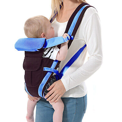 Baby Carrier Breathable Ergonomic Adjustable Wrap Sling Backpack Newborn Infant