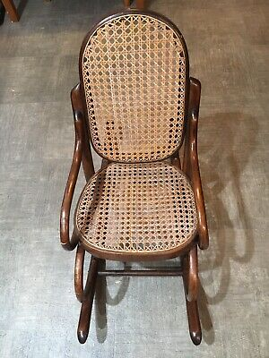 Vintage Style Thonet Children's Rocker
