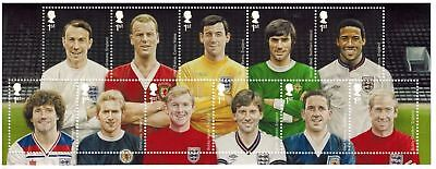 GB 2013 Commemorative Stamps~Football Heroes~ M/S~Unmounted Mint Set~UK