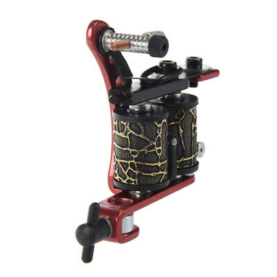 Professional Red Tattoo Machine Gun for Shader Liner 8 Wrap Coils [Misc.] G8F5