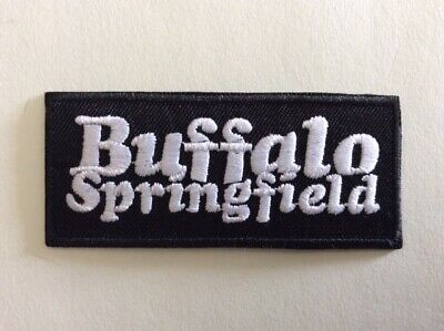 M336 Patch Ecusson Buffalo Springfield 8*3,5 Cm