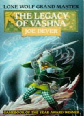 The Legacy of Vashna (Lone Wolf),Joe Dever