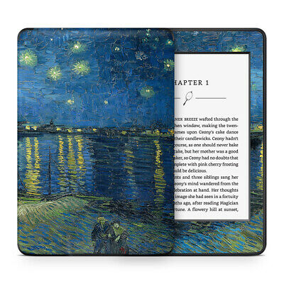 Van Gogh Starry Night Rhone Vinyl Skin Sticker Wrap to Cover &Personalise Kindle