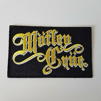 M442 Patch Ecusson Motley Crue 10*6 Cm