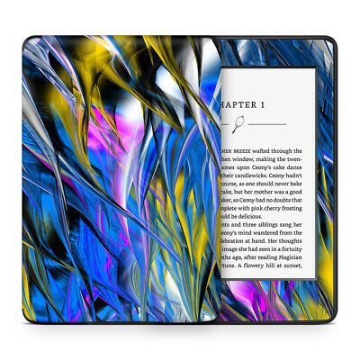 Abstract Breeze Blue Vinyl Skin Sticker Wrap to Cover & Personalise Kindle