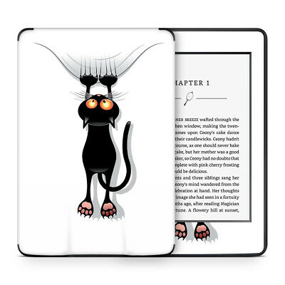 Black Cat Catastrophe Vinyl Skin Sticker Wrap to Cover & Personalise Kindle