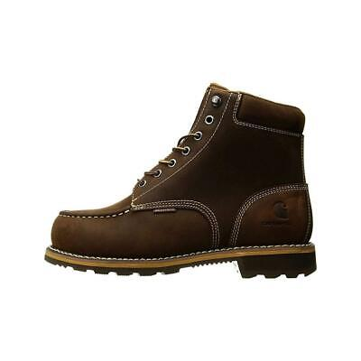 e265e80ddc7 CARHARTT MEN'S 6-INCH Waterproof Work Boot Brown Style CMW6190 ...