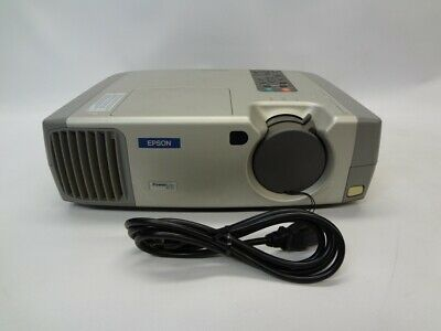 Epson EMP-51 400:1 1200 ANSI Lumens LCD Video Projector w//Lamp *No Remote*