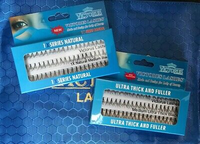 15f272264a2 Victorus Individual eyelashes All StylesNATURAL,ULTRA THICK ,1X,2XX,DOUBLE,JUMBO