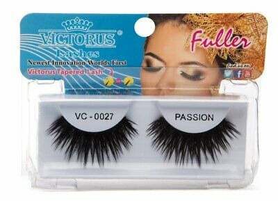 79c0a15a70b VICTORUS LASHES FULLER Worlds First Victorus Tapered Lashes Black VC ...
