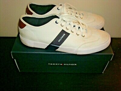 28e14488552cf Mens Tommy Hilfiger Shoes Sneakers White Sze 11.5 Athletic Sport Fashion  Casual