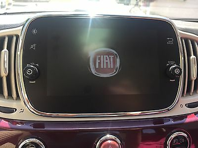 Fiat 500 Facelift Navi Autoradio-uConnect, Touchscreen-735637227
