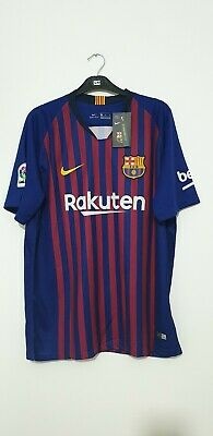 Barcelona Messi 10 Home Shirt 2018/2019 Nike Size XL Genuine BNWTS!