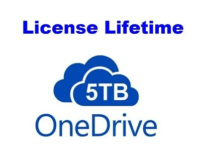 ¡¡ Onedrive 5TB Lifetime Account Custom Name No Monthly Payment 100% Genuine !!!