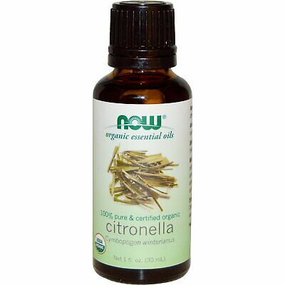 Now Foods Organic Essential Oils Citronella Oil 1 FL OZ (30 ml)