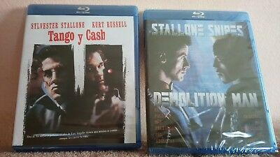 ULTIMO!!! Pack 2 Blu-ray Stallone:Tango Y Cash +Demolition Man