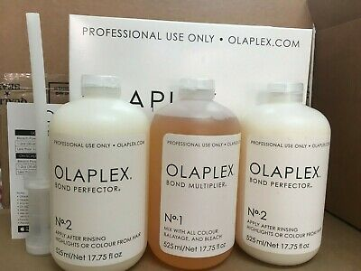 OLAPLEX Hair Perfector Salon Intro Kit Professional Use 100%AUTHENTIC New Sealed