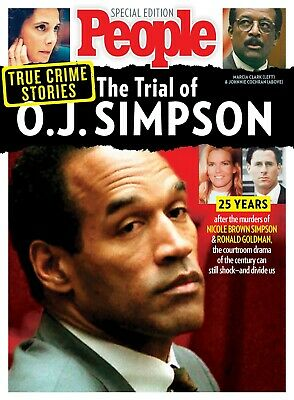 Trial of OJ SIMPSON People Magazine Special Edition 2019 - FREE SHIPPING