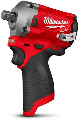 Cordless Impact Wrench 12V 1/2-Inch 4 Mode Drive Control Brushless Motor New