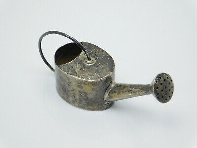 Vintage Taxco Mexico Sterling Silver Miniature Flower Watering Can Stamped Rare!