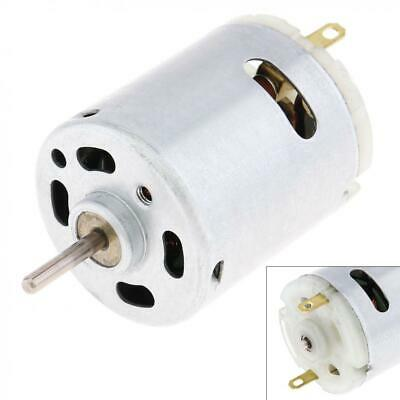 RS365 Mini Motor Massager Hair Dryer Micromotor Blower Motor 12V 12800RPM