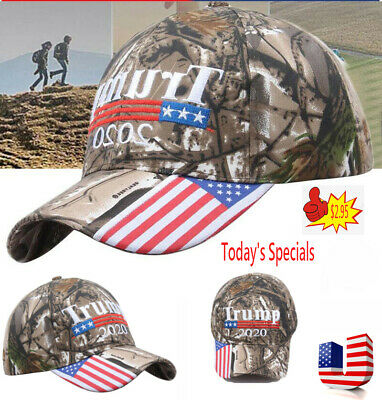 Trump 2020 Camouflage Cap Baseball Embroidery Hat
