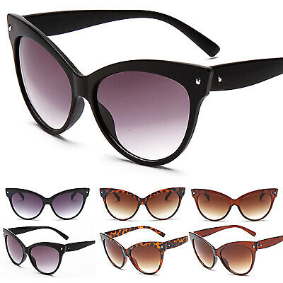 Womens Vintage Retro Style Cat Eye Sunglasses Eyewear Fashion Shades Sun Glasses