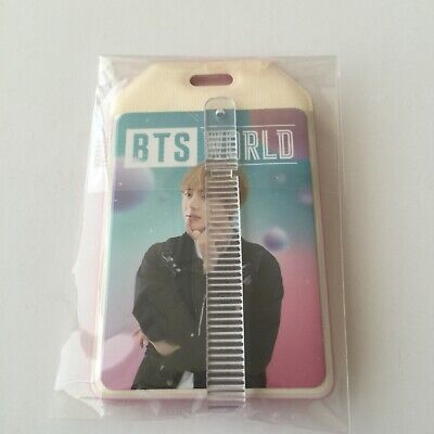 BTS World OST V Official Pre order Photocard Luggage Tag Love Yourself Persona