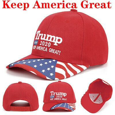 Donald Trump 2020 Keep Make America Great ! MAGA Cap President Election Hat Red