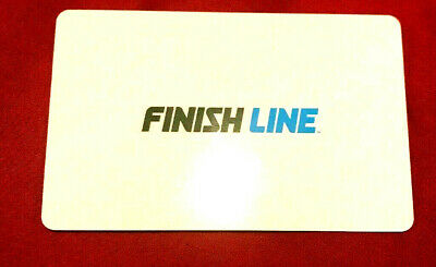 Finish Line Gift Card No $ Value Collectible ---0--BALANCE RECHARGEABLE