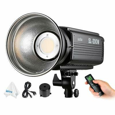 Godox SL-200W 200W 5600K LCD Panel Bowens Mount Continuous Output Lighting