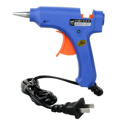 20W Hot Melt Glue Gun 100~240V clear glue sticks art crafts
