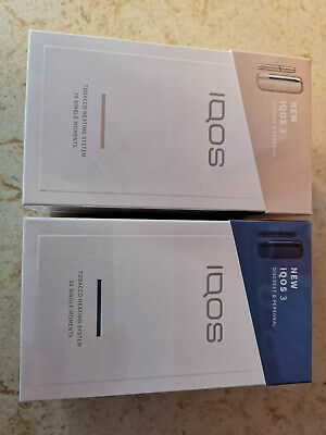 Nuova Iqos3 Blue E Gold Philip Morris 2Kit