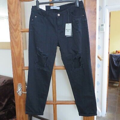 New Look Denim Black Relaxed slim Jeans size 14 BNWT