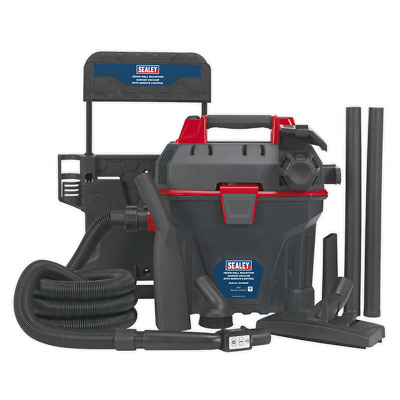 Garage Vacuum 1500W with Remote Control - Wall Mounting | SEALEY GV180WM by Seal