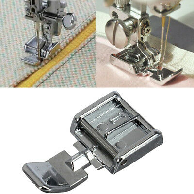 2 Side Metal Zipper Presser Foot For Snap-on Sewing Machine Sewing AccessorySC