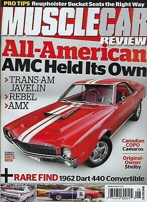 Muscle Car Review  August 2019