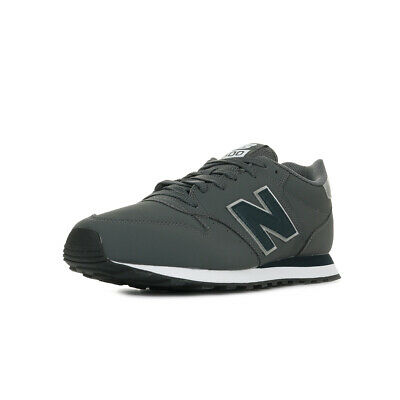 CHAUSSURES BASKETS NEW Balance homme 500 MNN taille Gris Grise Synthétique