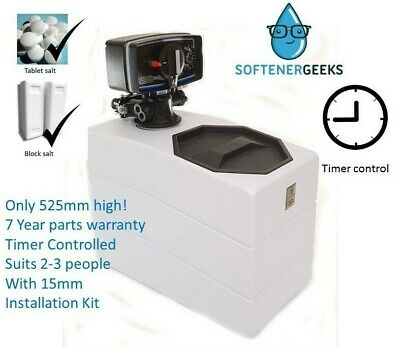 Softenergeeks Nano Water Softener Timer Control with 15mm kit