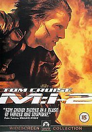 Mission Impossible Mi2 Dvd - Tom Cruise Sequel - New And Sealed - Free Post