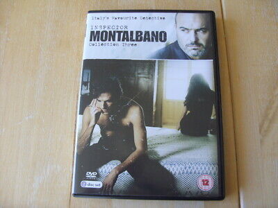 Inspector Montalbano - Collection 3 (DVD, 2013, 2-Disc Set)